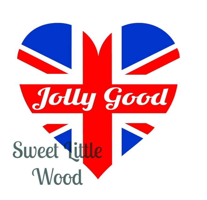 Union Jack heart SVG