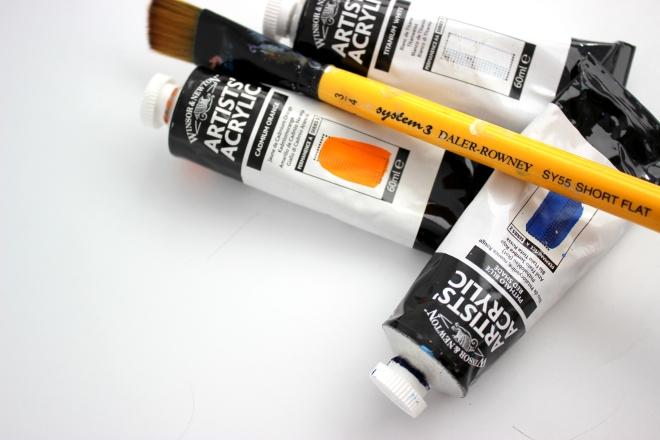 SweetLittleWood. acrylic paints