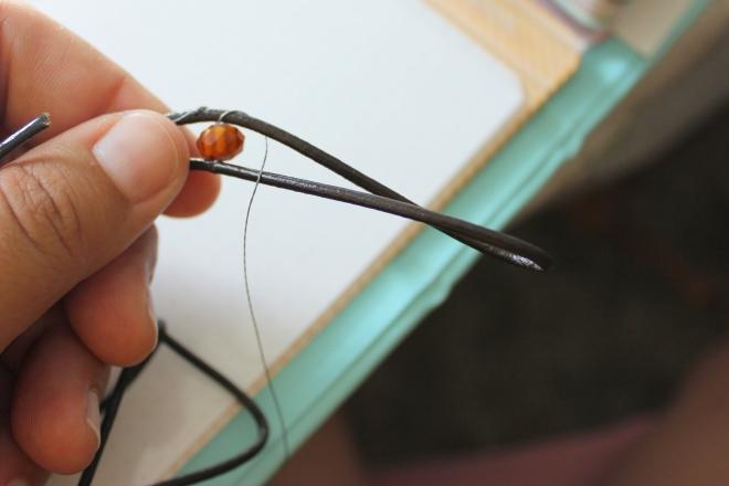 Sweet Little Wood. Wrap Bracelet Tutorial 3