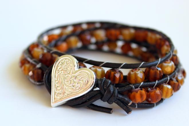 Sweet Little Wood. Wrap Bracelet Tutorial