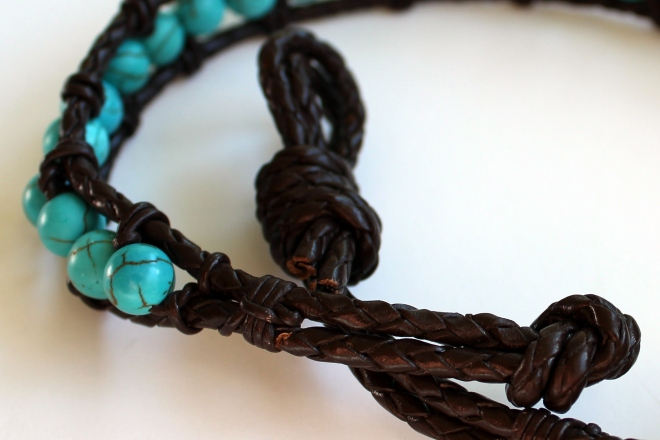 Sweet Little Wood. Wrap Bracelet Tutorial 8