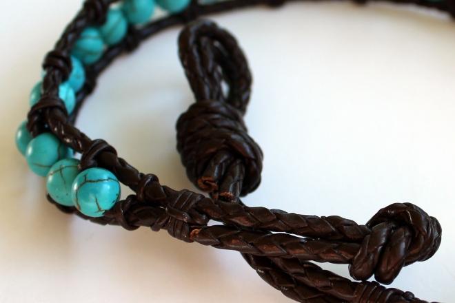 Sweet Little Wood. Wrap Bracelet Tutorial 8