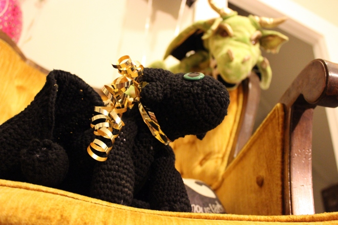 Sweet Little Wood. Crochet Toothless toy gift