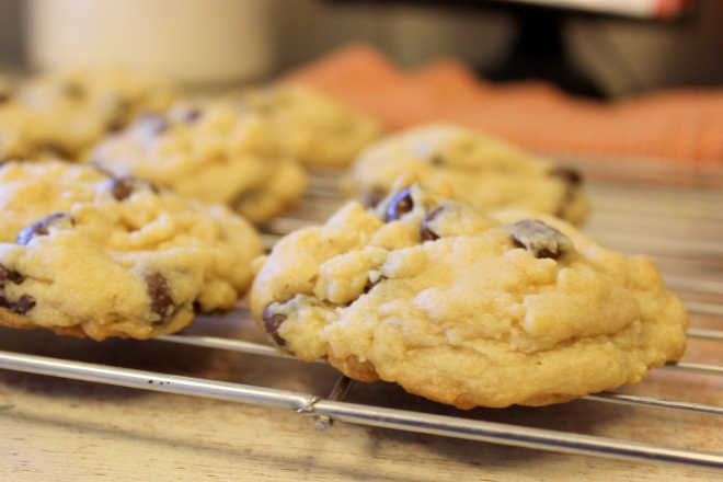 Chocolate Chip Cookies @ The Sweet Little Wood