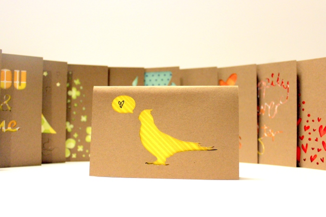 A Year of Presents: 12 cards + 12 messagest and gifts + One cool gift for your guy!  @ Sweet Little Wood