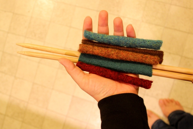 Felted Needle Cozies: MIL Gift @ Sweet Little Wood