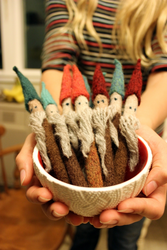 Gnome Home by Tiny Owl Knits Adapted for BIC pens @ Sweet Little Wood