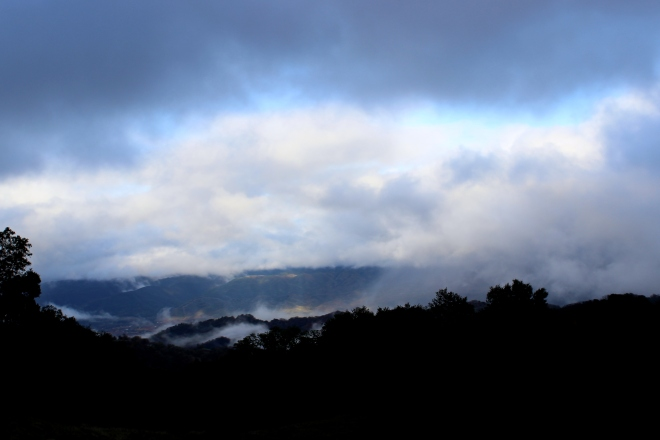 Rain clouds at Sunset @ Sweet Little Wood