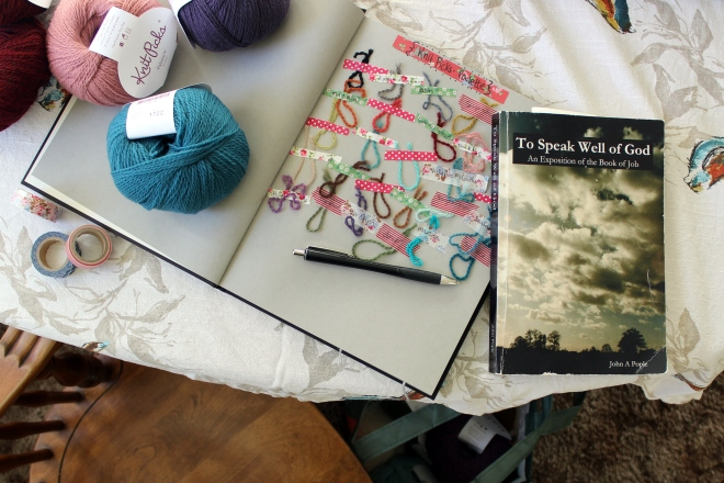 A easy idea for a  yarn cataloging system.
