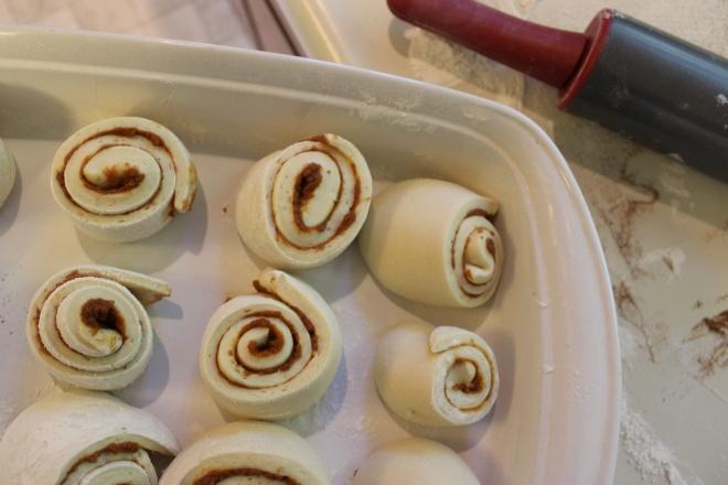 Soft Cinnamon Rolls @ Sweet Little Wood
