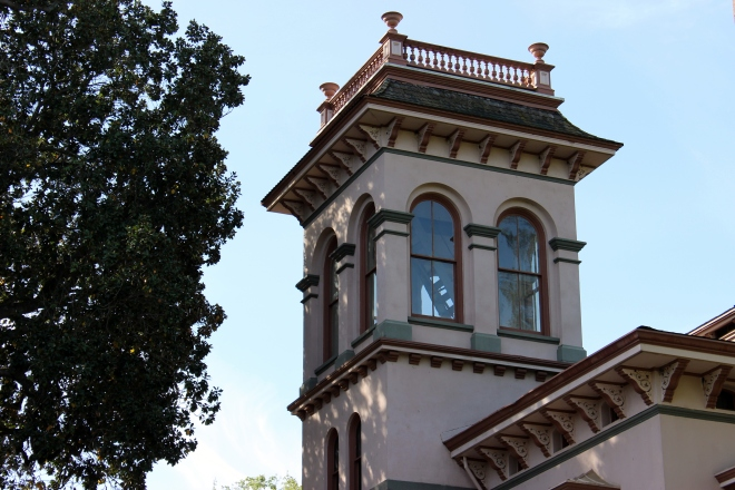 Bidwell Mansion, Chico, California- Sweet Little Wood