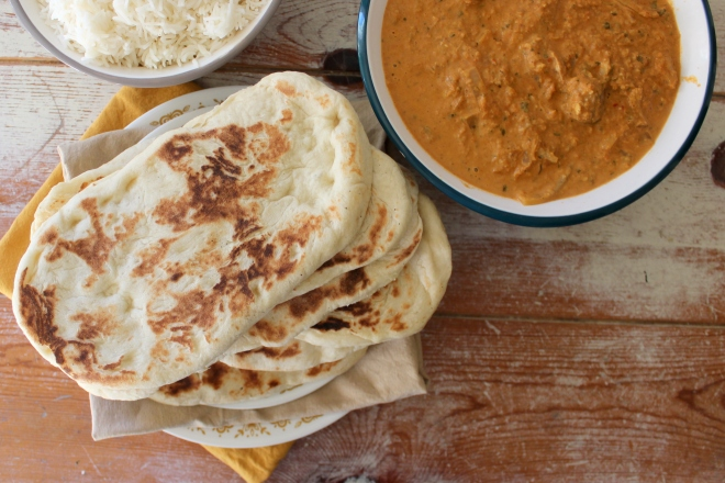 Naan Bread for curry, soups and pitta